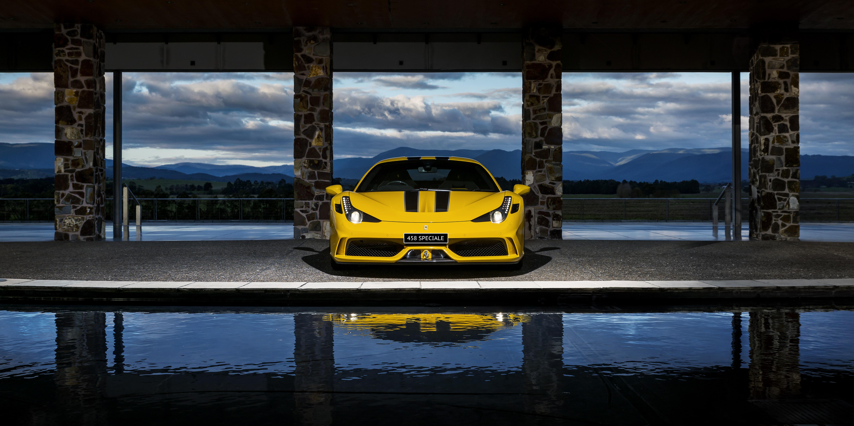 Ferrari 458 Speciale Melbourne