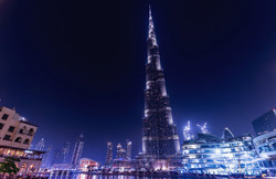 Burj Khalifa Dubai at Night