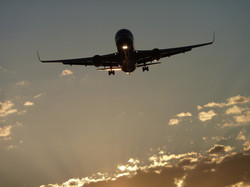 Landing LAX
