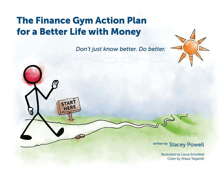 Finance Gym Action Plan (30% off 7-15 books)