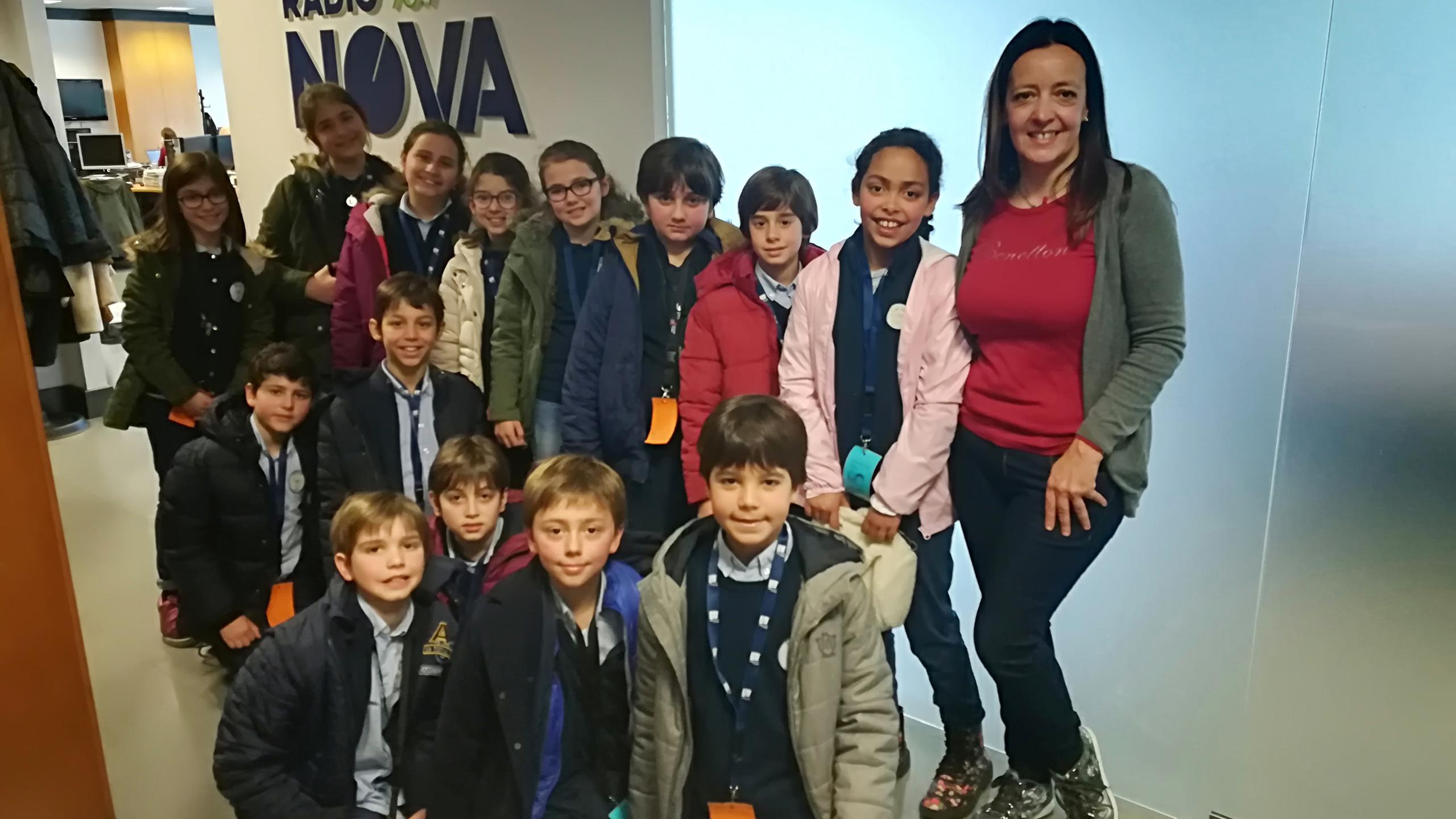 Visita Radio Nova