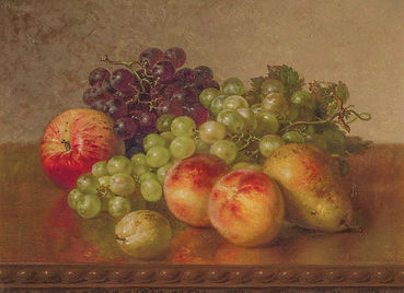 Robert Spear Dunning | Still Life with Fruit | Oil on canvas