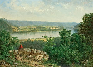 ALEXANDER HELWIG WYANT  American (1836-1892)  Hudson River View