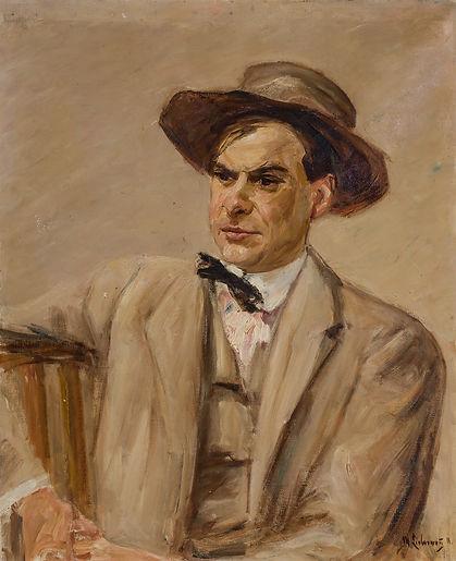 MAX LIEBERMANN German (1847-1935) PORTRAIT OF JULIUS BARD
