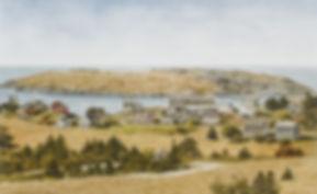 DOUG-MONHEGAN ISLAND VILLAGE, 2007