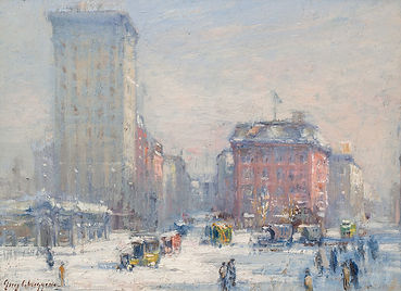 Guy Carleton Wiggins | The Circle, New York City