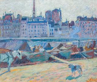 Raoul Dufy | La Cite, Vue de l'Hotel de Ville