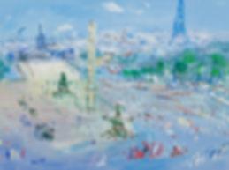JEAN DUFY - PLACE DE LA CONCORDE