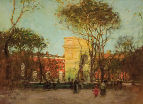 PAUL CORNOYER- Washington Square