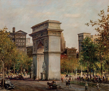 ALFRED S. MIRA | WASHINGTON SQUARE PARK