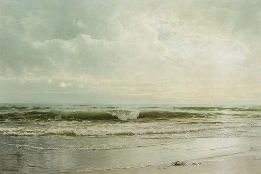 WILLIAM TROST RICHARDS-Seascape