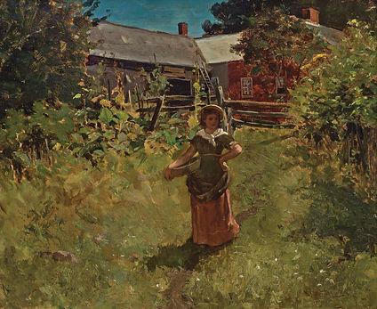 William Leroy Mecalf - In The Garden