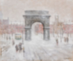Guy Carleton Wiggins | Winter, Washington Sq