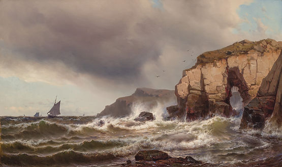 MAURITZ FREDERICK H. DE HAAS-Hole in the Wall Grand Manan