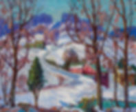 FERN ISABEL COPPEDGE-Winter in Bucks County