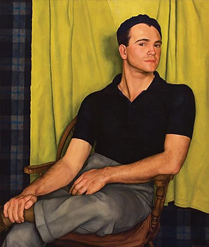 "LUIGI LUCIONI  American (1900-1988)  ""Portrait of Bob"""