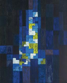 Adolf Richard Fleischmann | Comp #523 | Oil Painting on Canvas