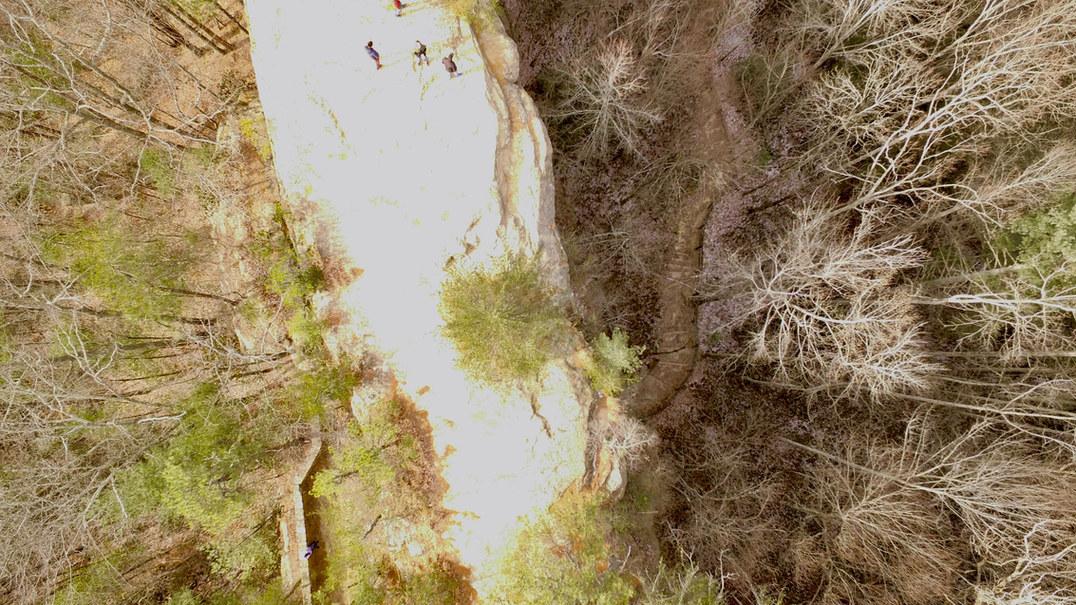 Natural Bridge Overhead