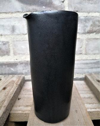 Cylinder mælkekande i sort