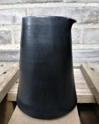 Kegle mælkekande i sort