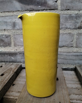 Cylinder mælkekande i gul