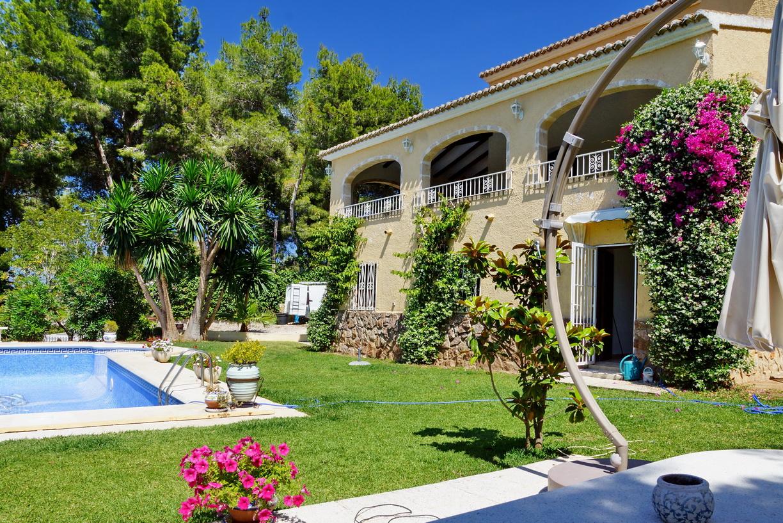 Villa te Javea met zeezicht