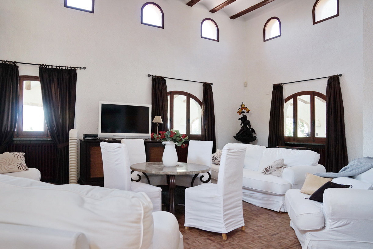 Villa te Javea met zeezicht....