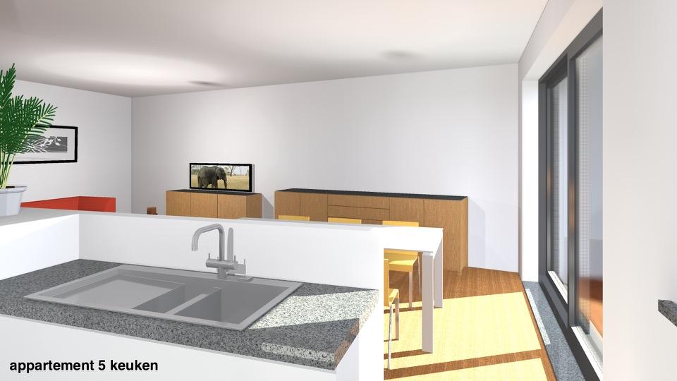 app 5 keuken