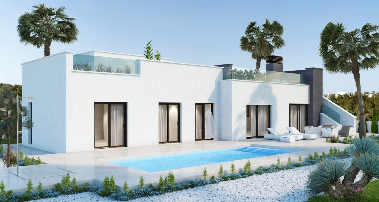 Polop villa's vanaf €410.000