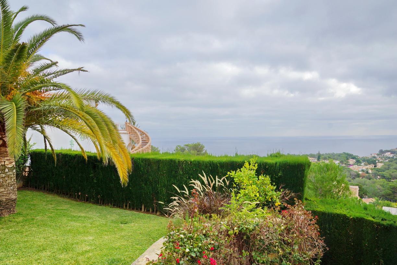 Javea villa met zeezicht