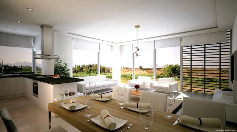Interieur semi-detached villa