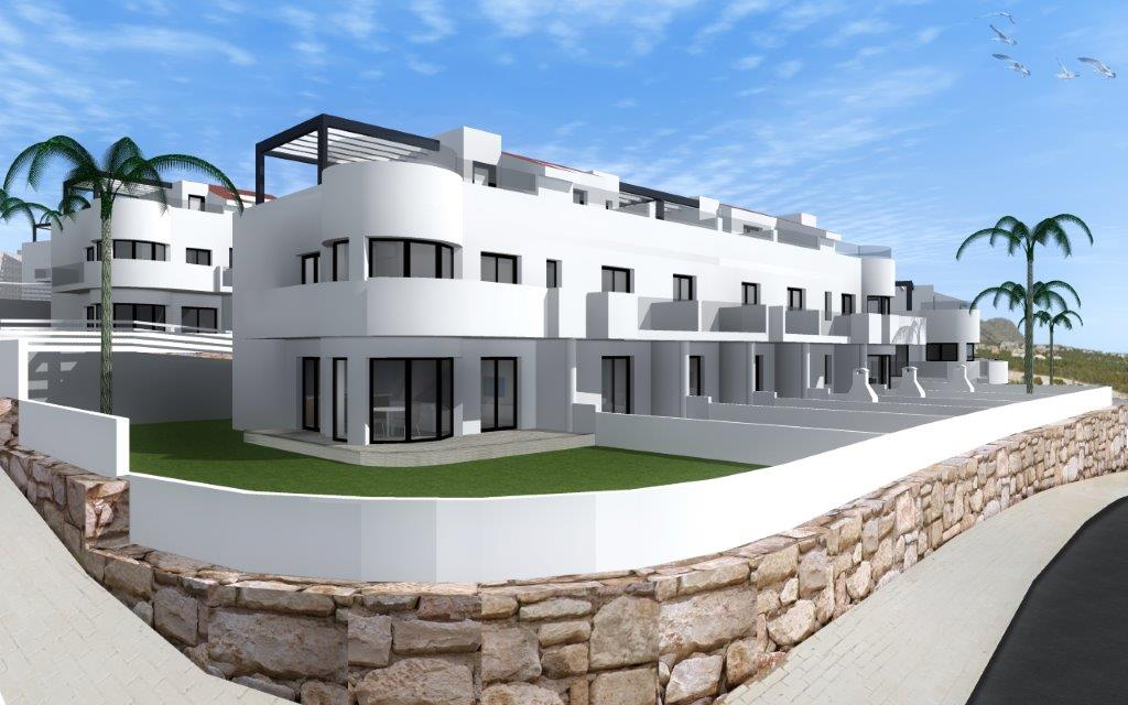 Costa Blanca townhouse €159.900