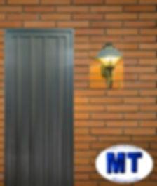 Puerta exterior. Puerta de chapa. Puerta chapa smple. Puerta ciega. 60x180 70x180 80x180 60x200 70x200 80x200. economica.