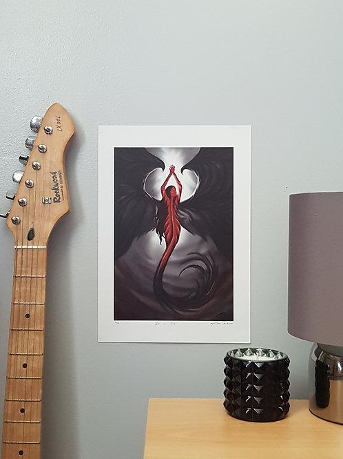 She Is Fire A4 digital print