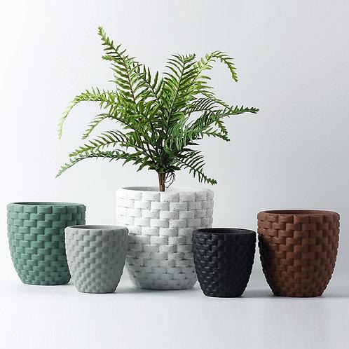 Rika Cement Plant Pot, Flower Pot, Planter