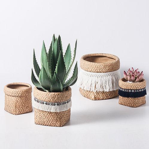 Inge Ceramic Plant Pot, Flower Pot, Planter