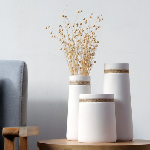 Kimi Ceramic Plant, Flower Vase