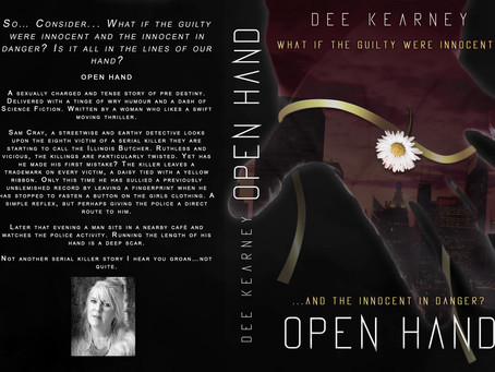 First review of my book Open Hand since it launched two weeks ago and thank you Helen Brobbey.