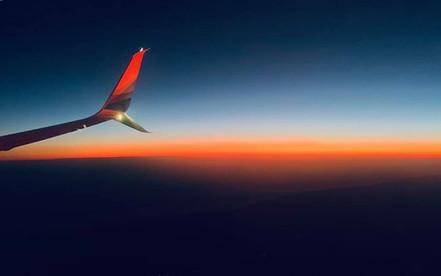 Pilot - I will take one perfect sunset t