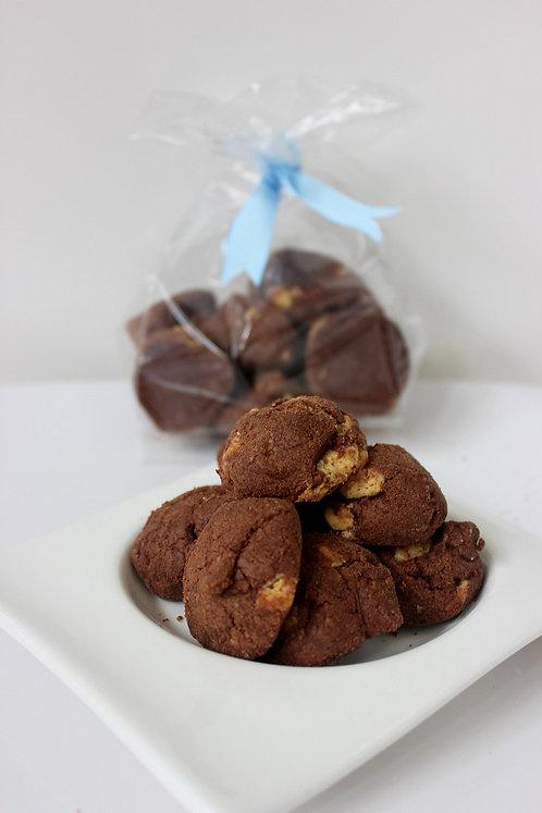 Triple Choc Fudge Cookies