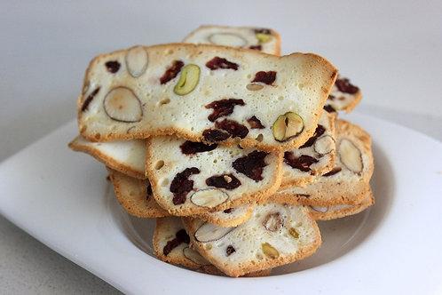 Cranberry & Pistachio Almond Bread