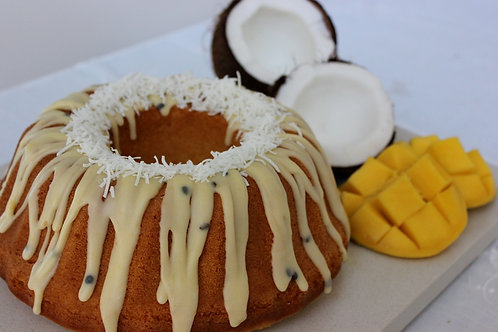 Coconut & Mango Cake