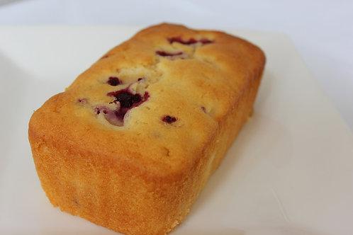 Pear & Raspberry Cake