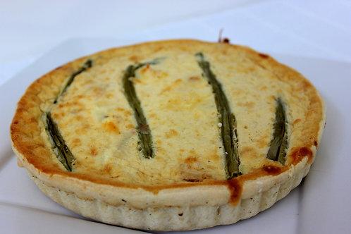 Chicken & Asparagus Quiche