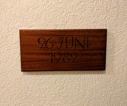 Erbaut am 26 Juni 1982