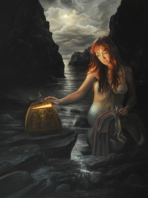 Mysteries of the Seven Seas, 20 x 16, oil on linen