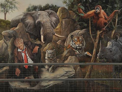 Endangered Species, 18 x 24, oil on Belgian linen