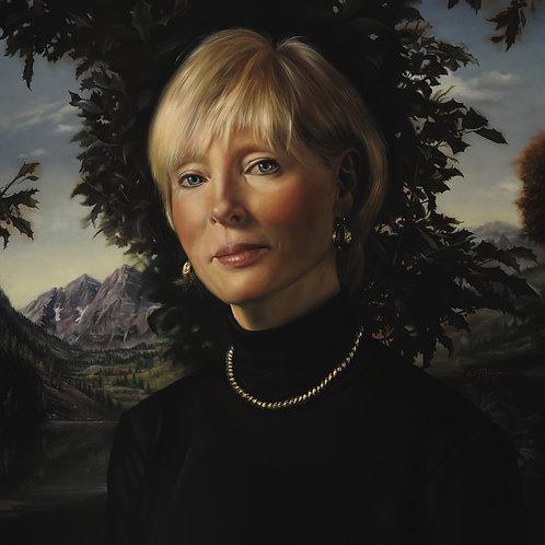 Lynn Regina, 20 x 14, oil on panel