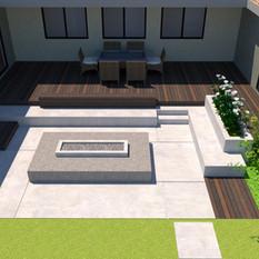 Ranchview House Landscape