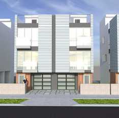 Kenmore 3-Duplex houses